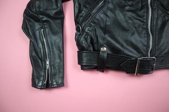 Brooks 1980s Vintage Motorcycle Leather Jacket - image 2