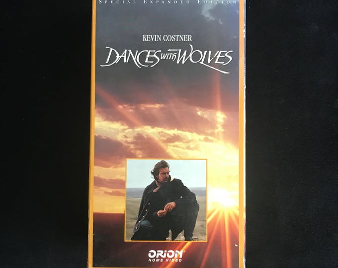 DANCES with WOLVES 1990's Vintage Movie VHS