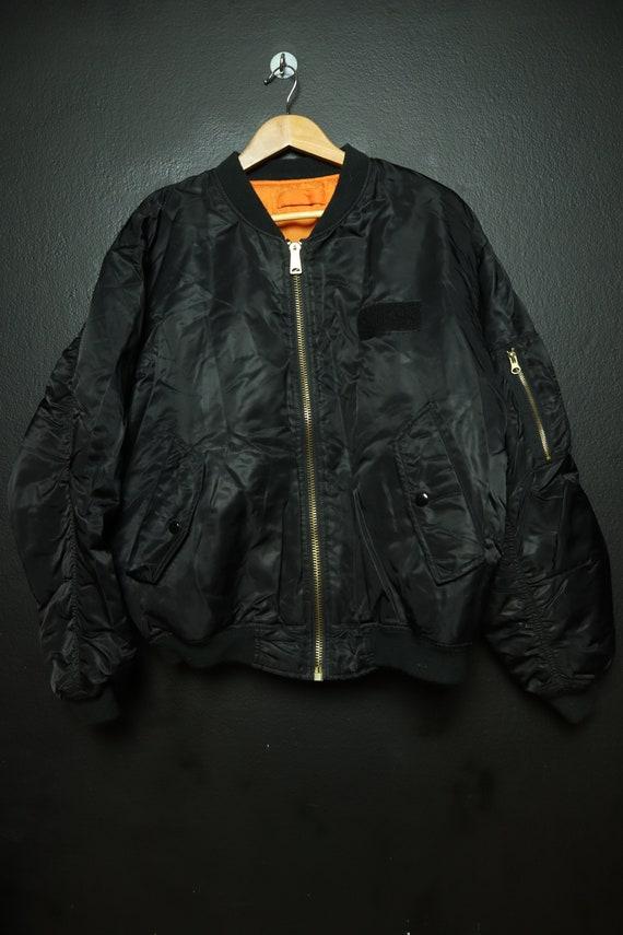 Vintage Flight Bomber Jacket