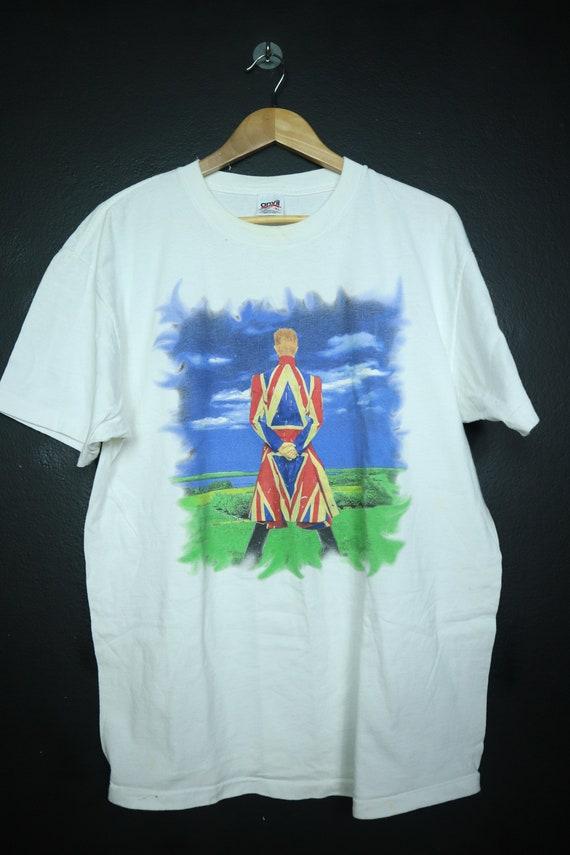 David Bowie Earthlings 1997 vintage Tshirt