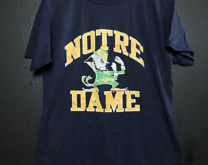 Notre Dame Champion 1990's Vintage Tshirt