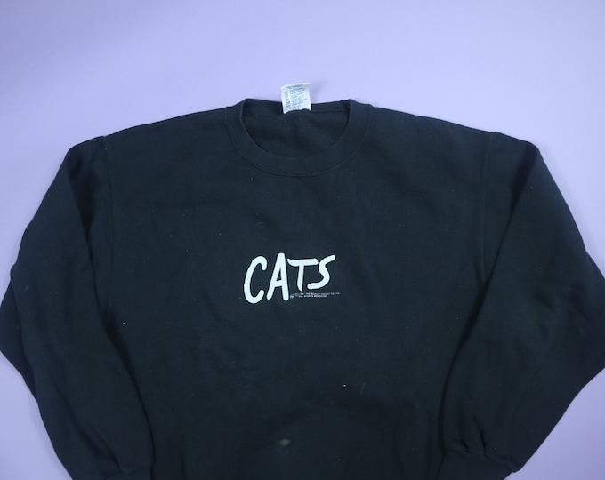 CATS the Musical 1981 vintage crewneck sweatshirt