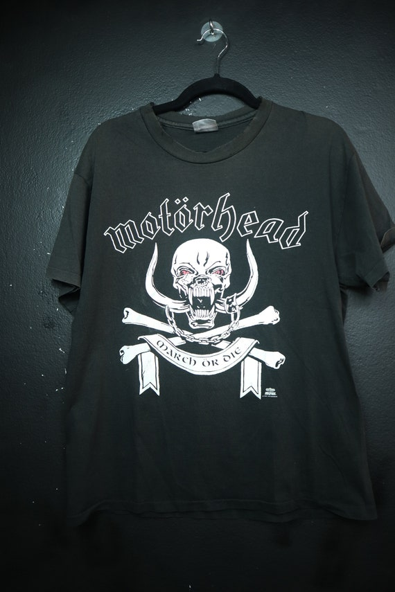 Motorhead March or Die 1992 Vintage Tshirt