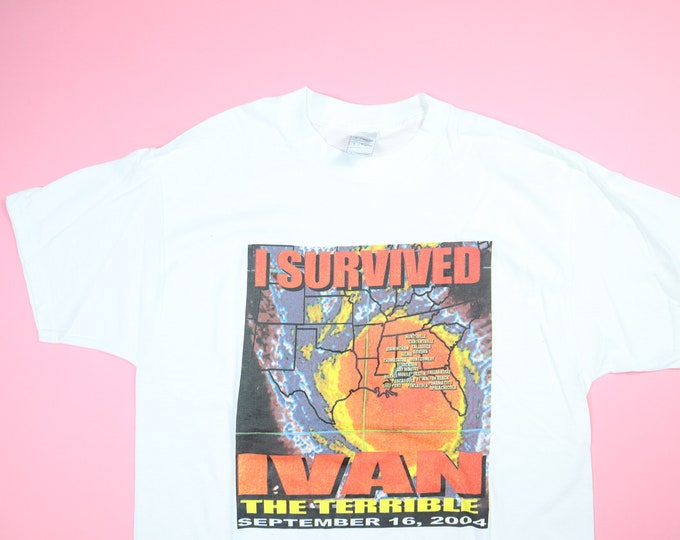 I Survived Ivan the Terrible vintage y2k tshirt