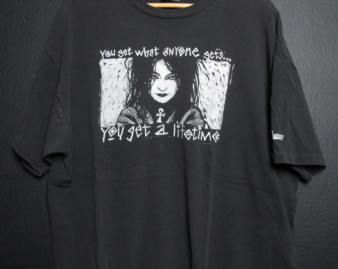 Sandman Death DC Comics 1995 vintage Tshirt