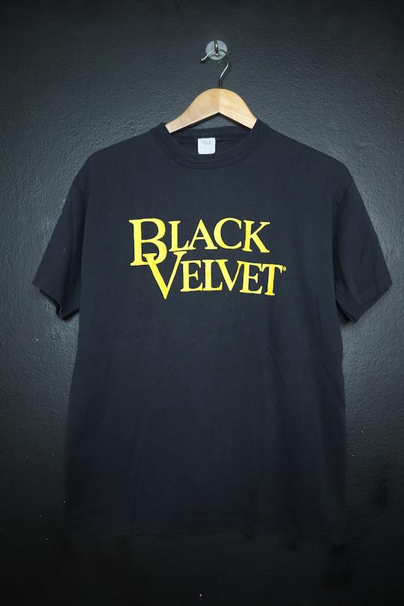 Black Velvet 1990's vintage Tshirt