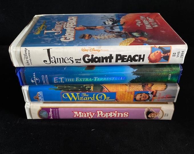 Choose One Or More! Disney 1990's Vintage Movie VHS