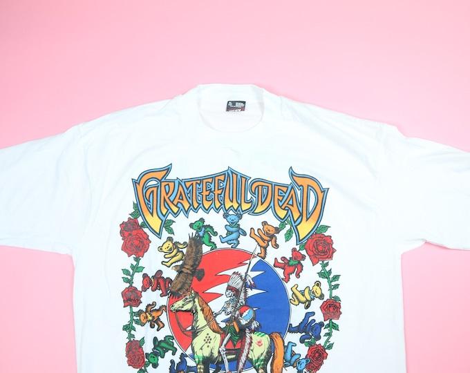 Grateful Dead Bears Tours R Us 1995 Vintage Tshirt