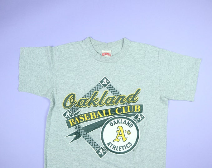 Oakland Athletics MLB Nutmeg 1989 vintage Tshirt