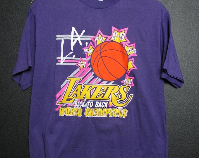 Los Angeles Lakers 1980's vintage Tshirt