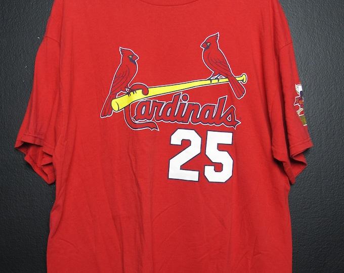 St-Louis Cardinals Mark McGwire MLB 1998 vintage Tshirt