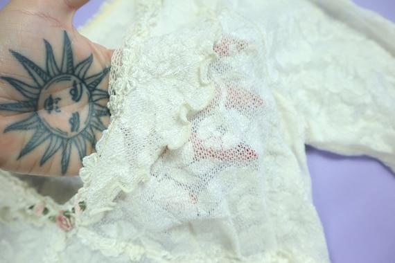Claire Pettibone Lace Wedding 1990's Vintage Dress - image 3