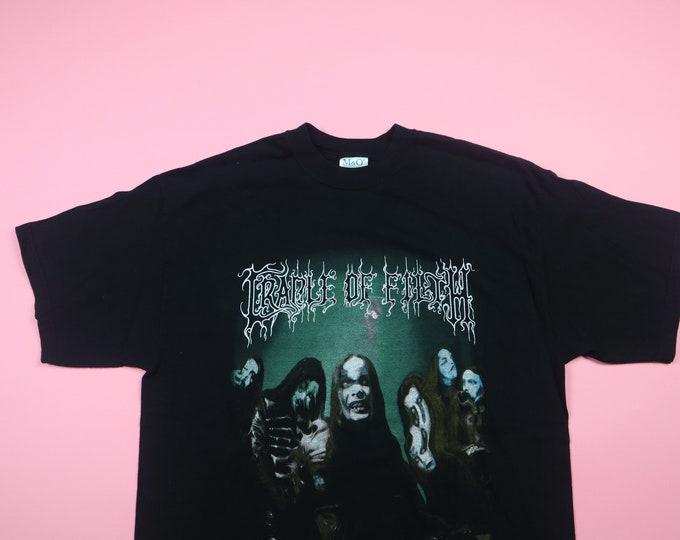 Cradle of Filth Heaven's Mutant Children 2000 Vintage TShirt