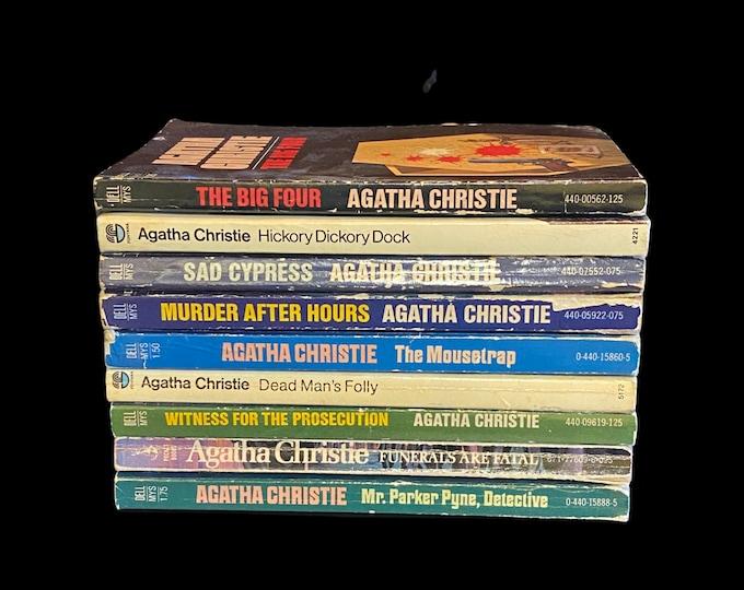 Choose One Or More! Agatha Christie Horror Suspense Vintage Books