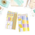 EC HORIZONTAL // Sunflowers Weekly Sticker Kit