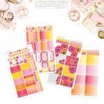 EC VERTICAL // Poppy Fields Weekly Sticker Kit // ECVK 09