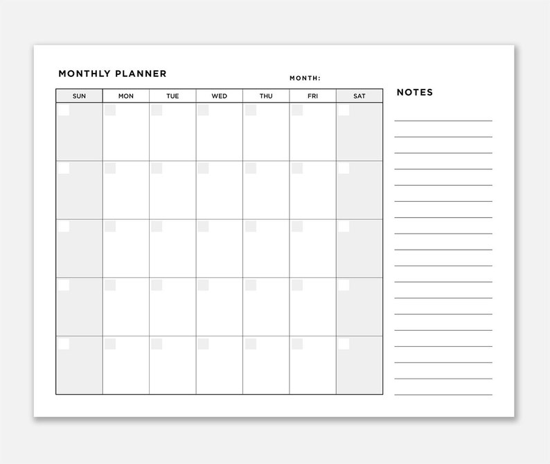 photo relating to Monthly Organizer named Planner Month-to-month, Regular Organizer, Printable Month-to-month Planner, Do-it-yourself Month-to-month Planner, Basic Month-to-month Planner, Fillable Month to month Planner, Thirty day period