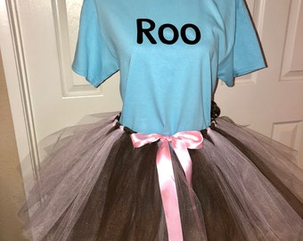 d4e0643734a0 Roo Piglet Pooh tigger eeyore disney bound tutu halloween costume mmsshp  cosplay shirt or set adult or child custom made