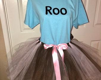 Roo Piglet Pooh tigger eeyore disney bound tutu halloween costume mmsshp  cosplay shirt or set adult or child custom made 512486a9c091