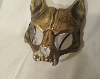 Gold Cat Mask