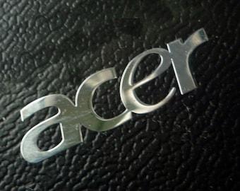 ACER Label / Aufkleber / Sticker / Badge / Logo 21mm x 6mm [080]
