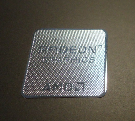 Radeon Graphics Amd Ati Label Aufkleber Sticker Badge Logo 172