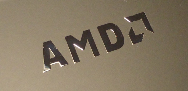 Amd Label Aufkleber Sticker Badge Logo 8mm X 30mm 0168