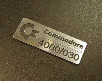 Commodore Amiga 4000/030 Label / Logo / Sticker / Badge 42 x 15 mm [271]