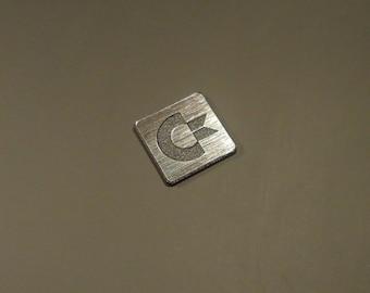 Commodore AMIGA Label / Aufkleber / Sticker / Badge / Logo 1,45cm x 1,45cm [240]