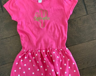 Cactus Personalized Dress