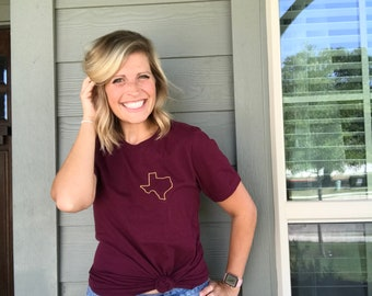 Texas School Shirt, Texas State University