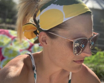 Lemon Knot Tie Headband