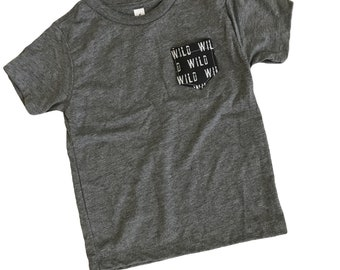 Wild One Pocket Tee