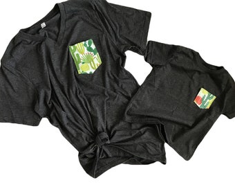 Mommy and Me Cactus Tees