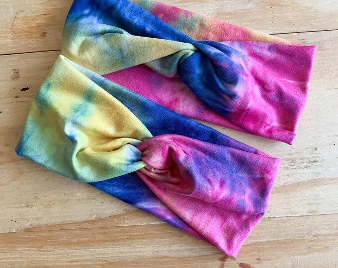 Tie Dye Turban Headband