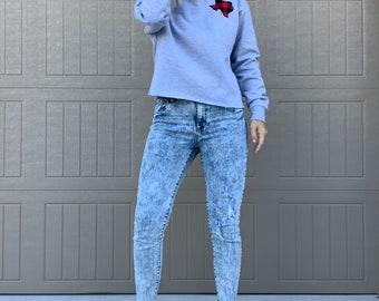 Texas Crop Sweatshirt