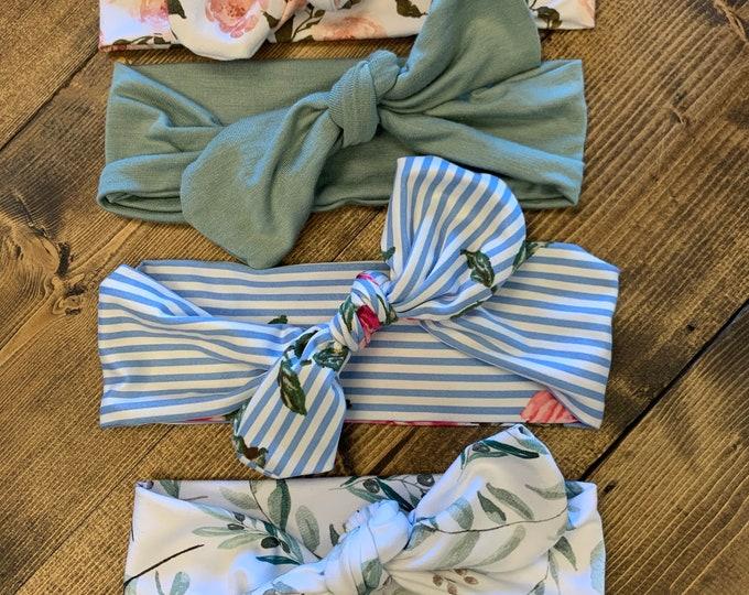Spring Tie Headbands