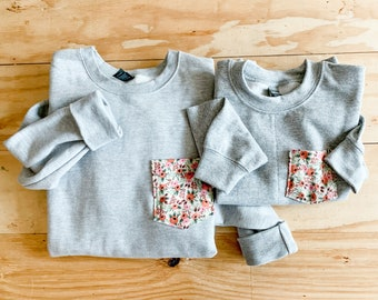 Mommy and Me Sweatshirts, Rifle Paper Co