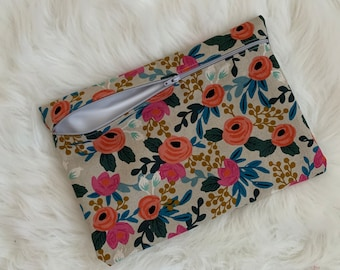 Rifle Paper Floral Wetbag