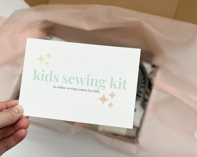 Kids Sewing Kit & Course