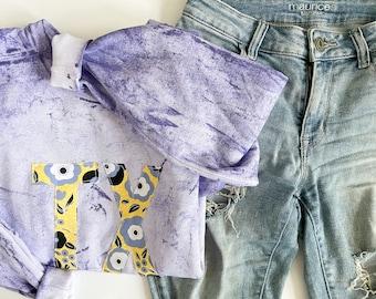 Purple Tie Dye TX Sweatshirt **PREORDER**