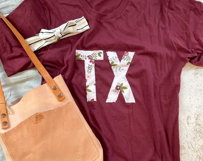Maroon TX T-shirt