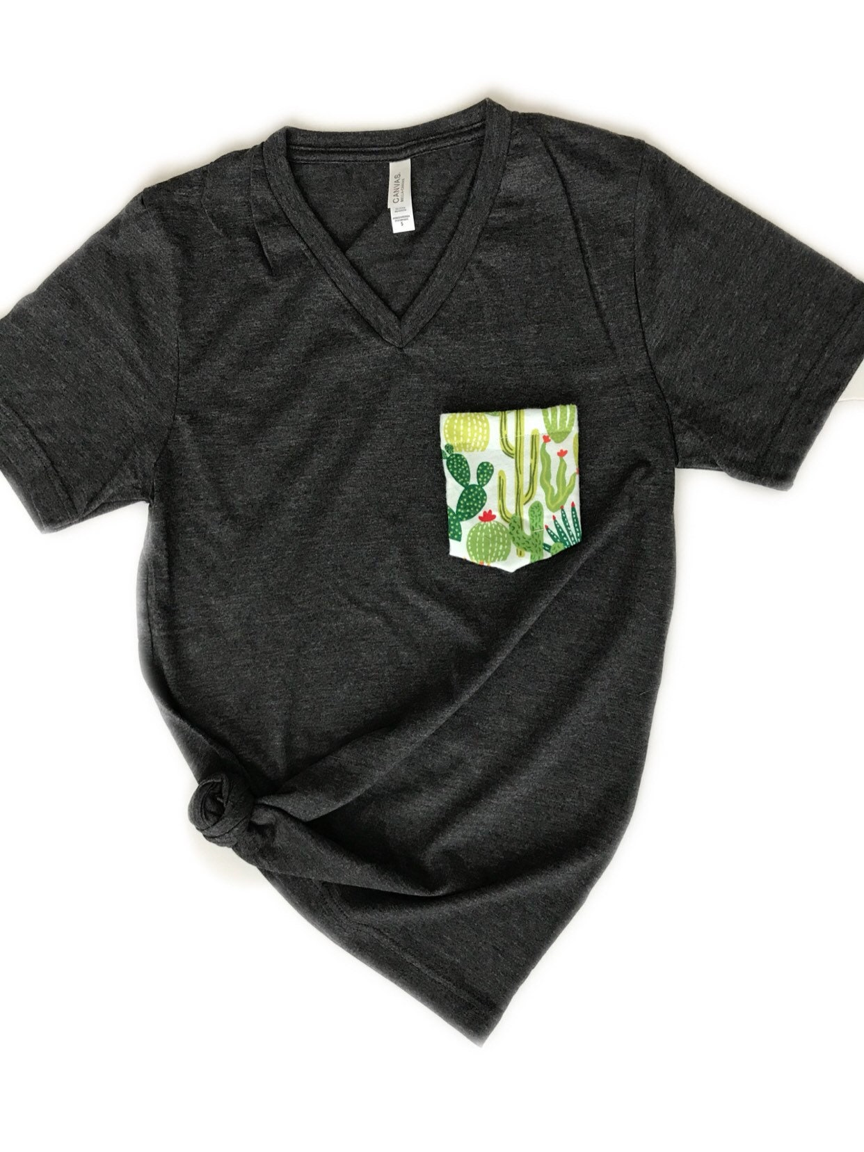 904e1480945 Cactus Pocket T-Shirt