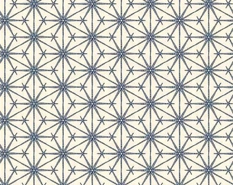 Andover, Gray Collection, Starbursts, Starlight, Gray on White, Modern Quilt Studio, 100% Cotton, Fabric by the Yard, A-8031-C