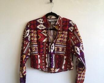 Western Printed Jacket