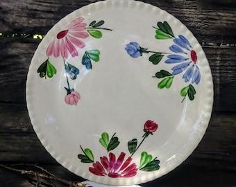 Blue poppy plates | Etsy