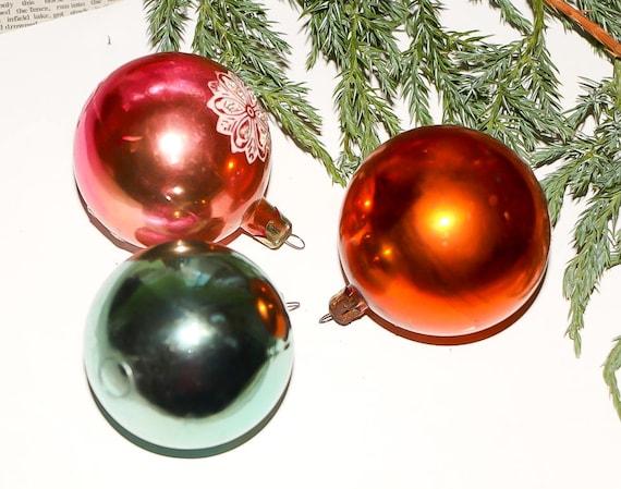 - Christmas Tree Balls Holiday Ornaments Balls Ornaments Vintage
