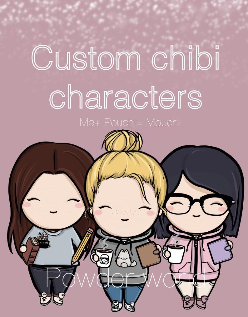 MOUCHI custom chibi character pouchi