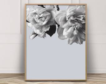 Art Prints, Modern Flower Poster, Flower Wall Poster, Flowers Print, Floral Wall Art, Gallery Wall Prints, Flower Art, Botanical Print, Art