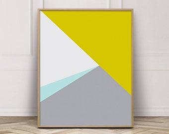 Geometric Wall Art, Scandinavian Art, Modern Wall Art, Geometric Art, Minimalist Art, Wall Art Prints, Geometric Print, Printable Wall Art
